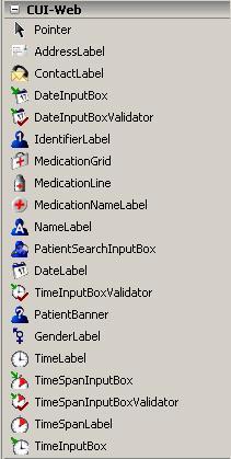 CUI Web Components