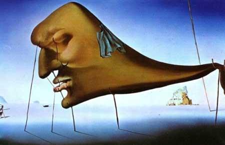 Le sommeil, Salvador Dali (1937)